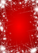 Abstract christmas background with stars
