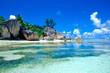 Leinwandbild Motiv plage des seychelles