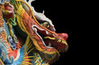 Quadro Asian temple dragon