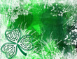 celtic shamrock background