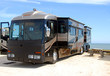Motorhome camping on beach - 6270492