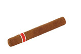 Premium cuban cigar isolated