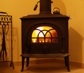 Fireplace - closed
