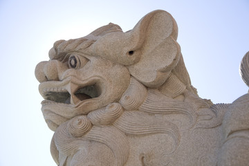Chinese Lion Statue 2