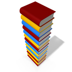 books tower