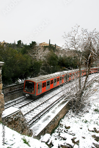 Athens, Greece - The Athens metro