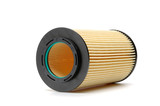 Brand new automotive oil filter cartridge poster