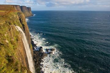 Mealt Falls, Kilt Rock, Isle of Skye, Scotland