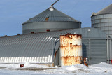 Quonset and Rusty White Tank