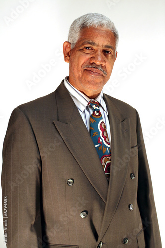 Businessman in a casual pose