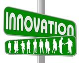 innovation grün poster