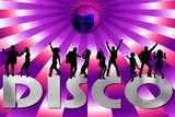 disco pink poster
