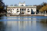 Classicistical Lazienki Palast in Warsaw - 6297046