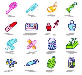 color icons - bathroom