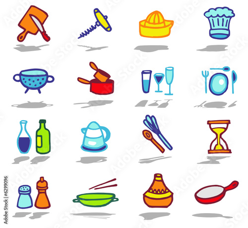 color icons - kitchen