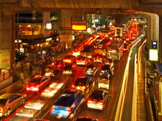 Rush Hour in Bangkok Centre
