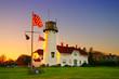 canvas print picture - Chatham Lighhouse, Cape Cod..