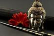 Asien Still-Leben mit Buddha