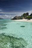 ile vacances paradis seychelles lagon bleu turquoise exotisme tr poster