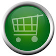 Green Shopping Cart Menu Button
