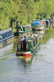 The grand union canal baddesley clinton warwickshire  poster