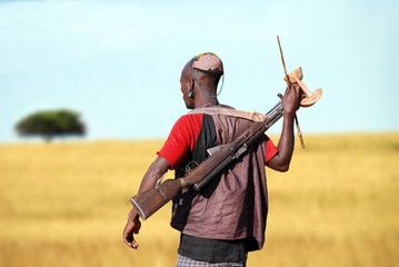 Cacciatore etiope