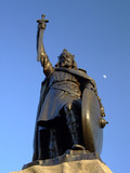 Statue of King Alfred the Great in Winchester