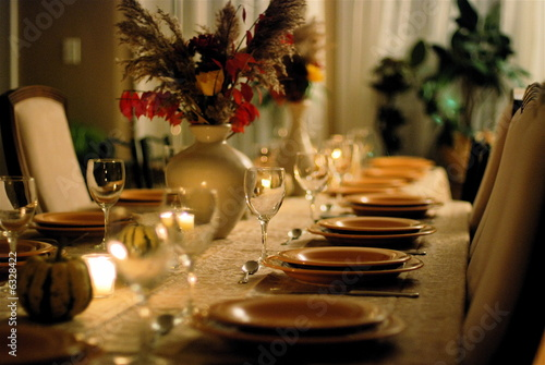 fancy dinner party table - klejonka