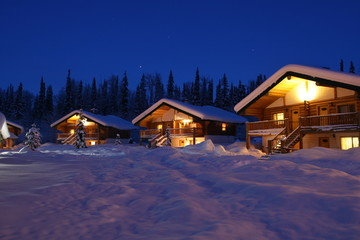 Recreational Winter Chalets
