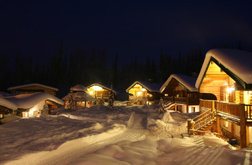 Remote Winter Chalets
