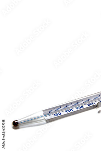 Thermometer on white background 03