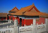 The historical Forbidden City in Beijing poster