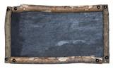 Rustic blackboard poster