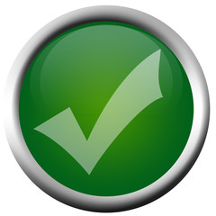 Green Tick Button