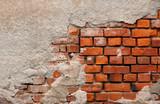 Fototapety mauerwerk hintergrund