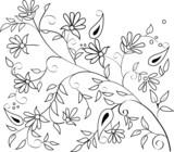 branch sketch poster