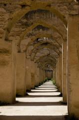 Les moulins de Moulay Ismail, Meknès, Maroc.