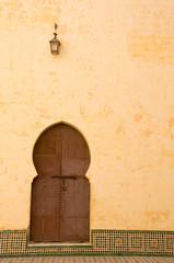 Mausolée Moulay Ismail, Meknès, Maroc.