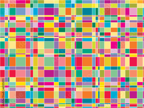 mosaic color matrix squares (vector)