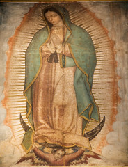 Guadalupe Painting 1531 Revelation Guadalupe Shrine Mexico