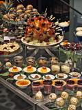 Fototapety dessert büffet