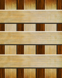 Wood texture with straight lines poster
