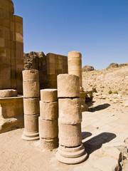 Roman ruins, Petra Jordan