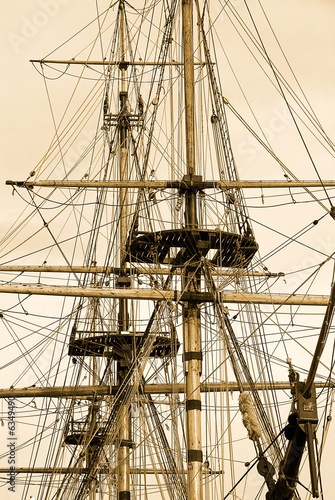 Tall ship at Whitby