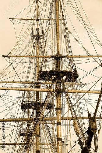 Tall ship at Whitby