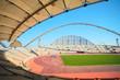 Inside Khalifa sports stadium in Doha, Qatar