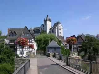 Diez - Lahnbrücke und Schloss