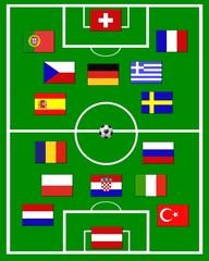 fussballfeld - teinehmer em