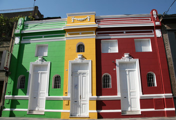 Colorful architecture in Argentina