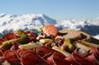 Leinwandbild Motiv Assiette Valaisanne, spécialité Suisse